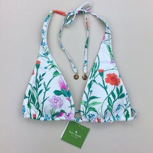 Kate Spade Marina Beach Halter String Bikini Top
